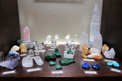 Clear Quartz Pedestals, Malachite, Lapis Lazuli, Amethyst, Turquoise, Citrine, Selenite, Rose Quartz pedestal, Metaphysical Store, Santa Ana, CA